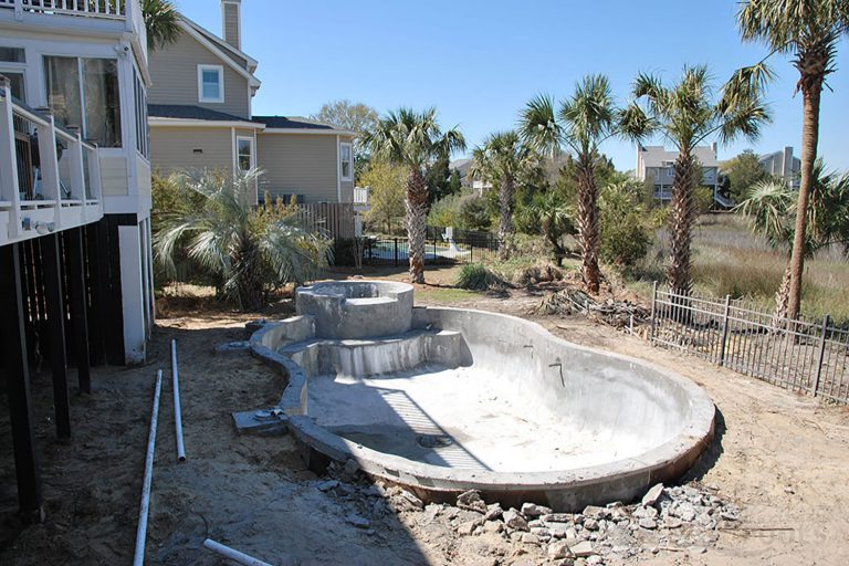 3. Concrete Shell Installed