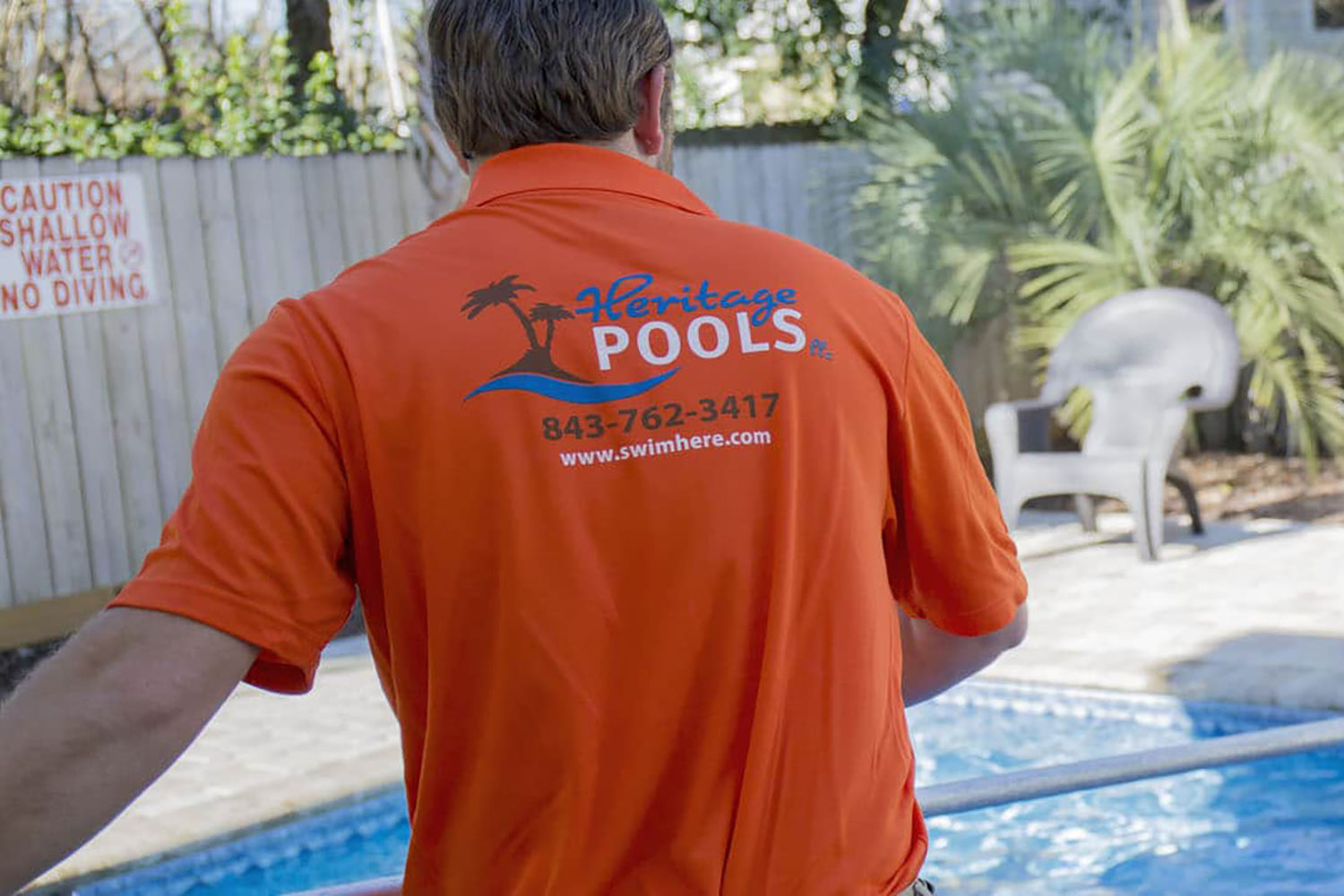 OUR TECHNICIANS - Heritage Pools, LLC